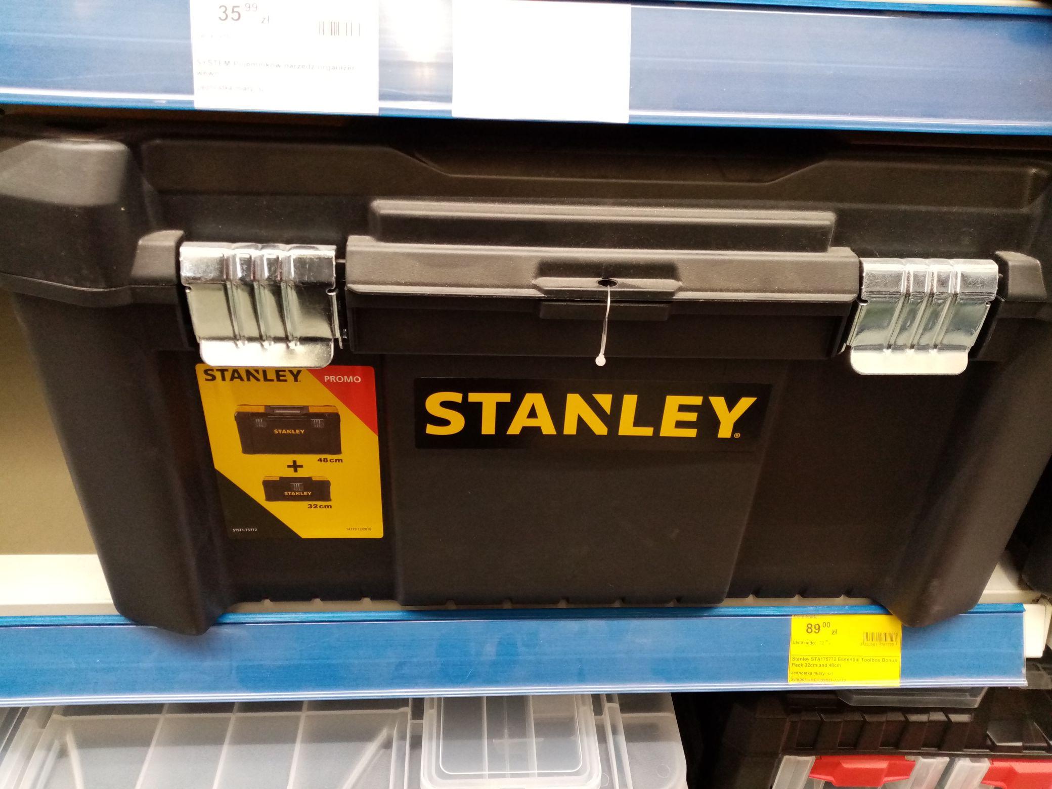 Stanley STA175772 Essential Toolbox bonus pack - Mrówka Myślenice