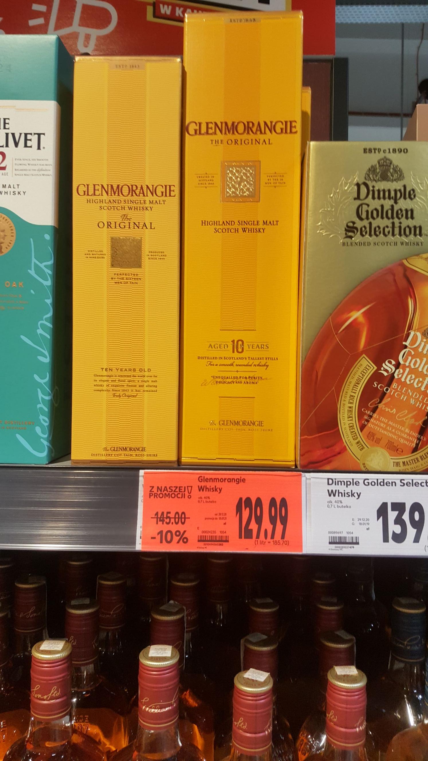 Whisky Glenmorangie 10