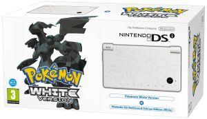 Nintendo DSi White (Limitowana edycja Pokemon) + gra Pokemon White @ Zavvi