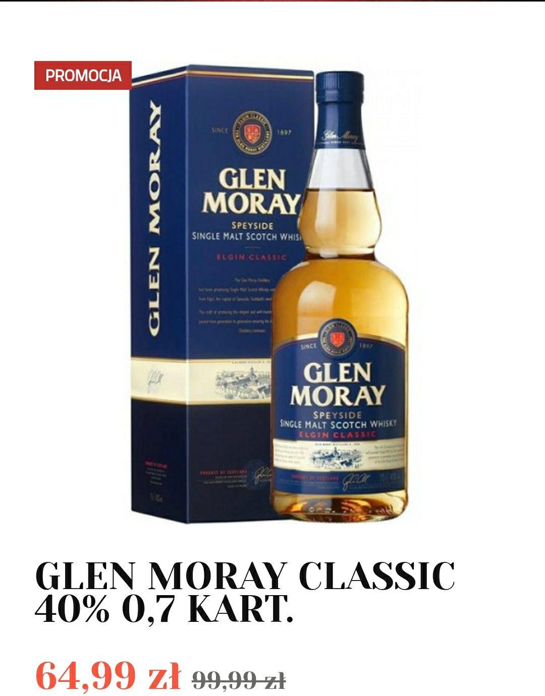 Whisky Glen Moray Classic 0,7