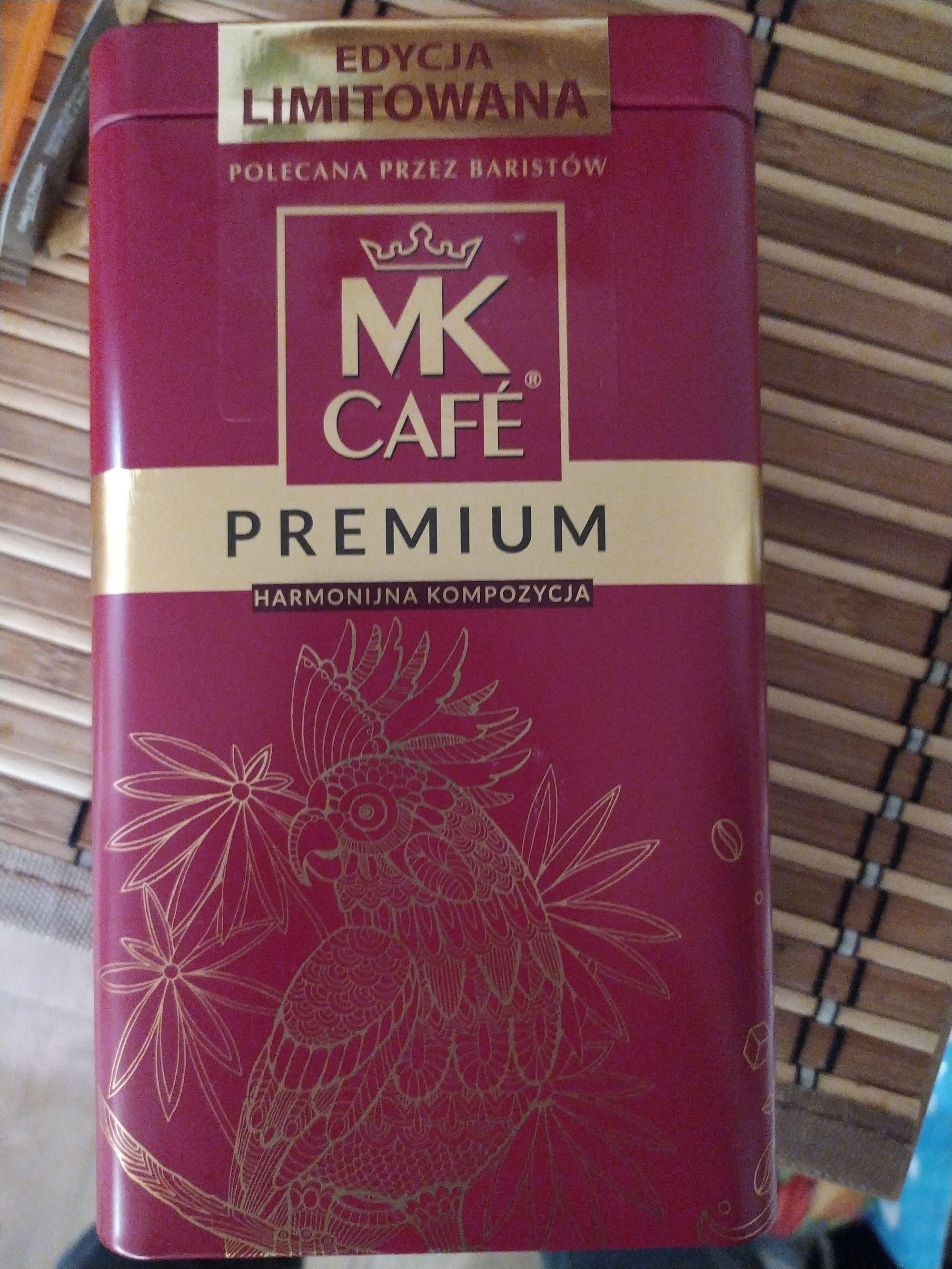 Kawa MK CAFE PREMIUM w ładnej, czerwonej puszce