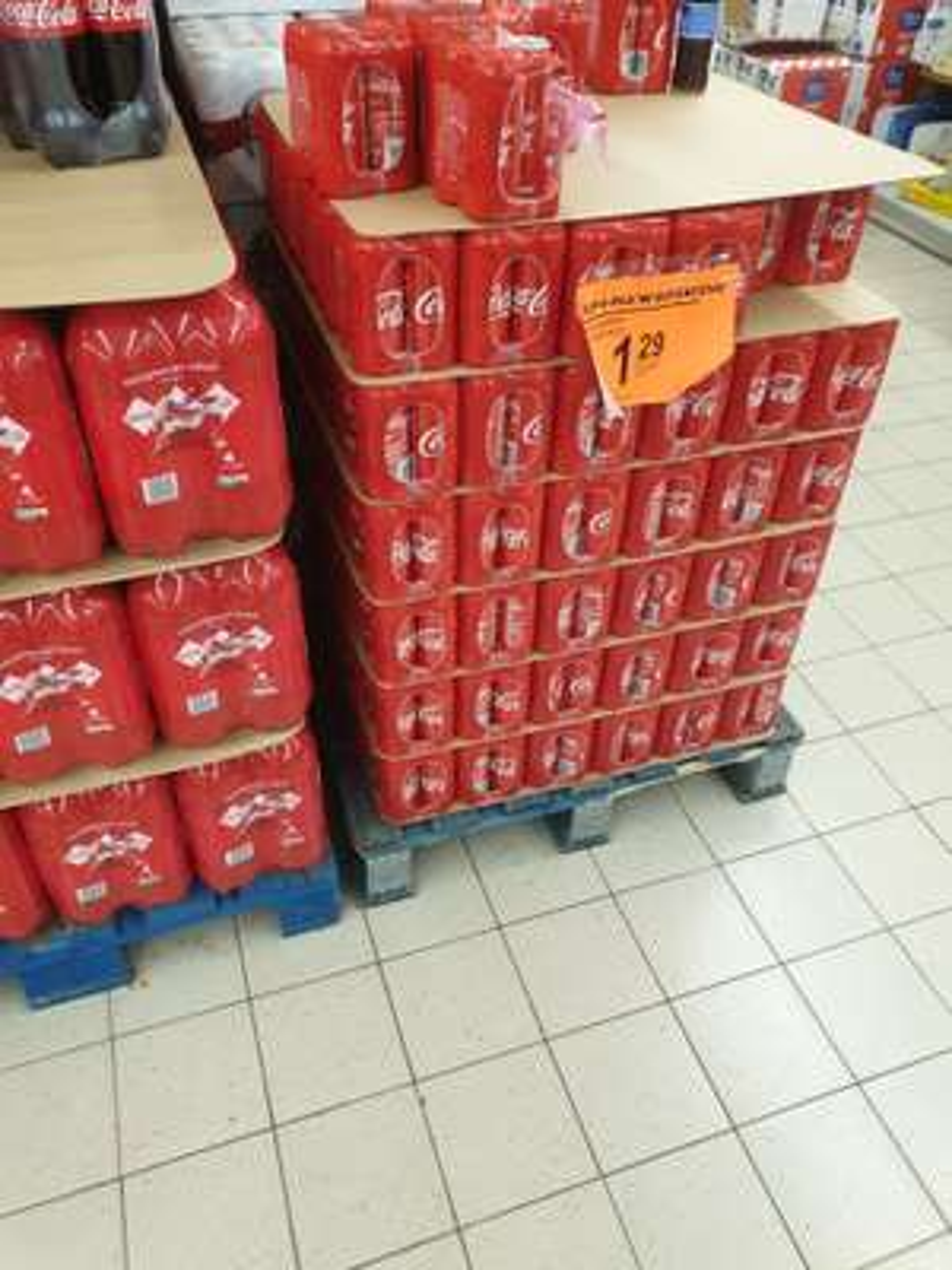 Coca-cola 0.33l (przy zakupie 4-paku)