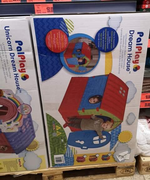 Ogrodowy domek dla dzieci - Kaufland
