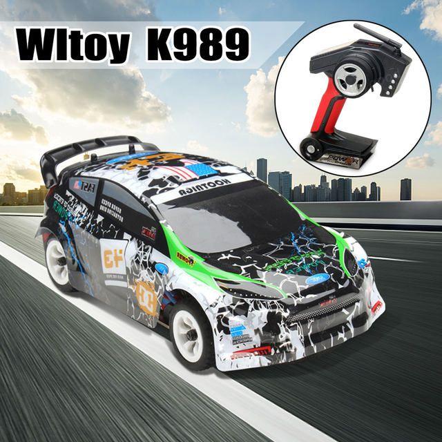 Samochód RC Wltoys K989 z Chin za $40,02