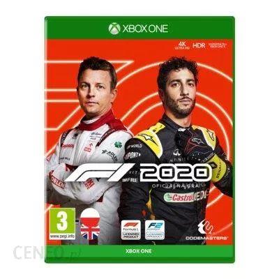 F1 2020 - Edycja Standardowa Gra XBOX ONE (Kompatybilna z Xbox Series X)