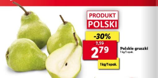 Polskie gruszki 1 kg @Lidl