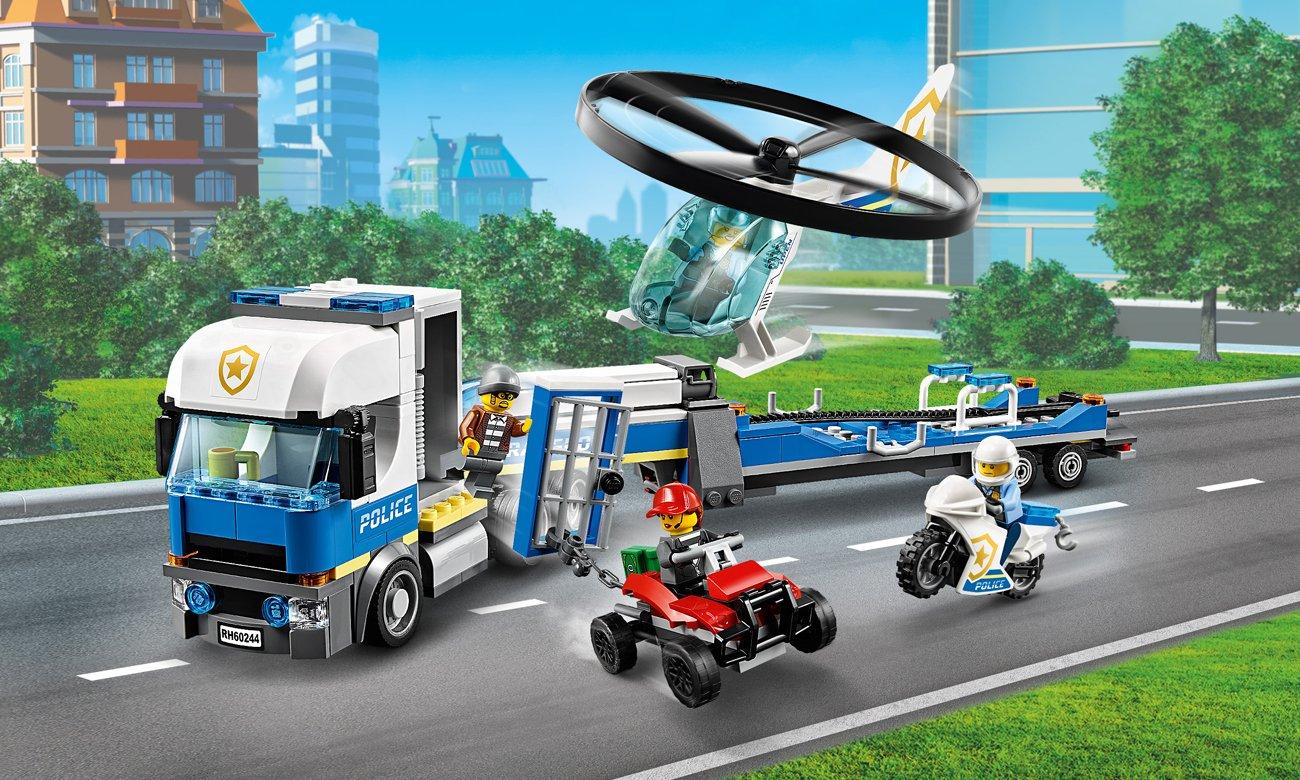 LEGO City Laweta helikoptera policyjnego @ al.to