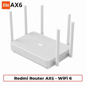 "Xiaomi Redmi Router AX6 WiFi 6 - 50,34$ - z kodem ""aeliveday"""