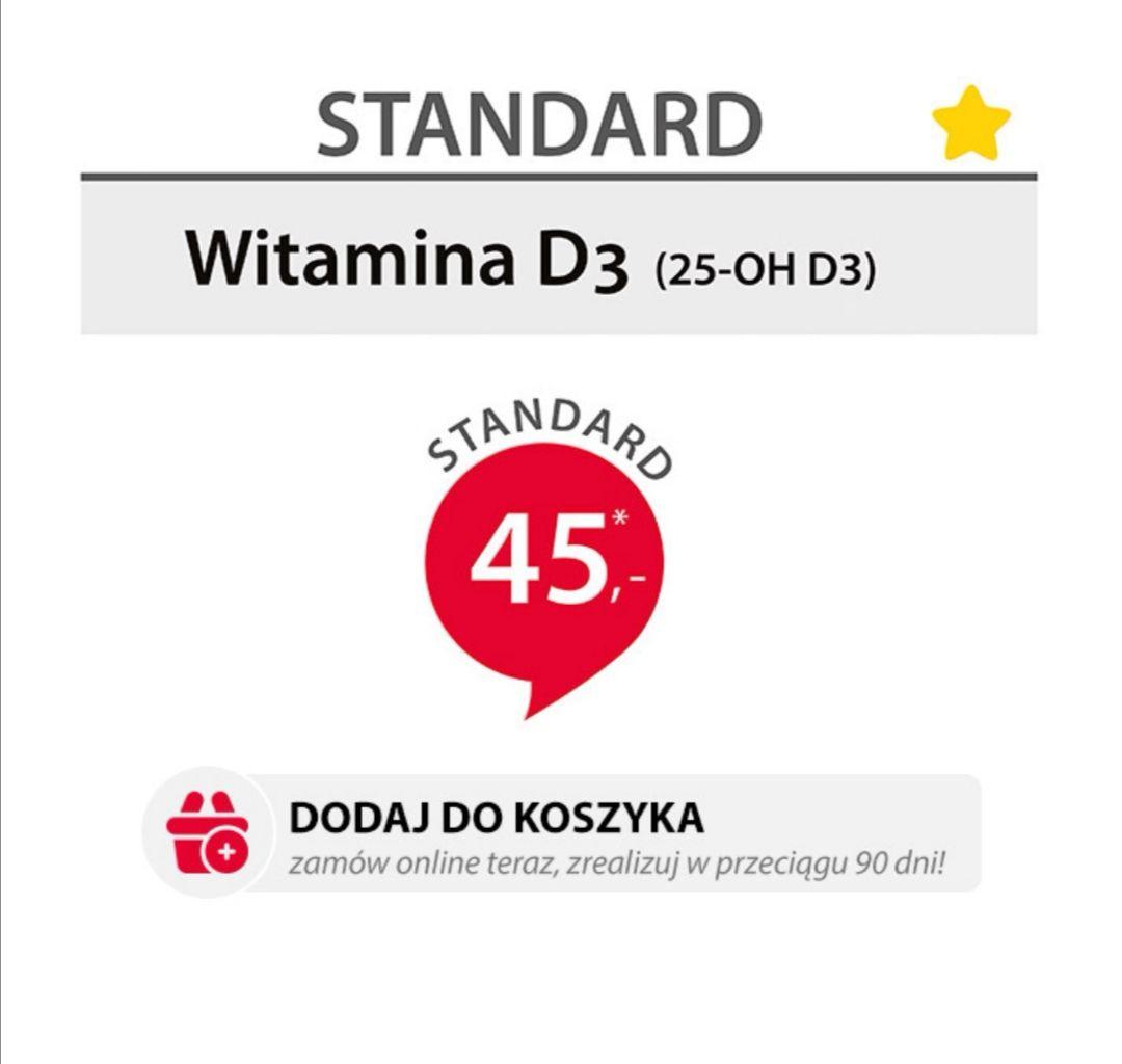 Badanie poziomu witaminy D3 (25-OH D3)