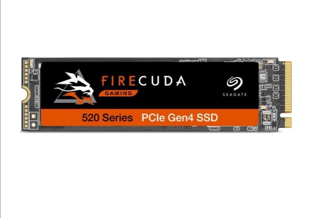 Dysk SSD Seagate Firecuda 520 1 TB M.2 2280 PCI-E x4 Gen4 NVMe, 5000MB/s /4400MB/s
