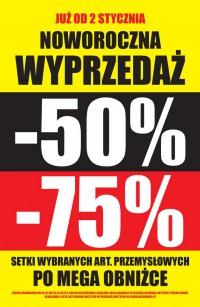 Noworoczna wyprzedaż do -75% @ Biedronka