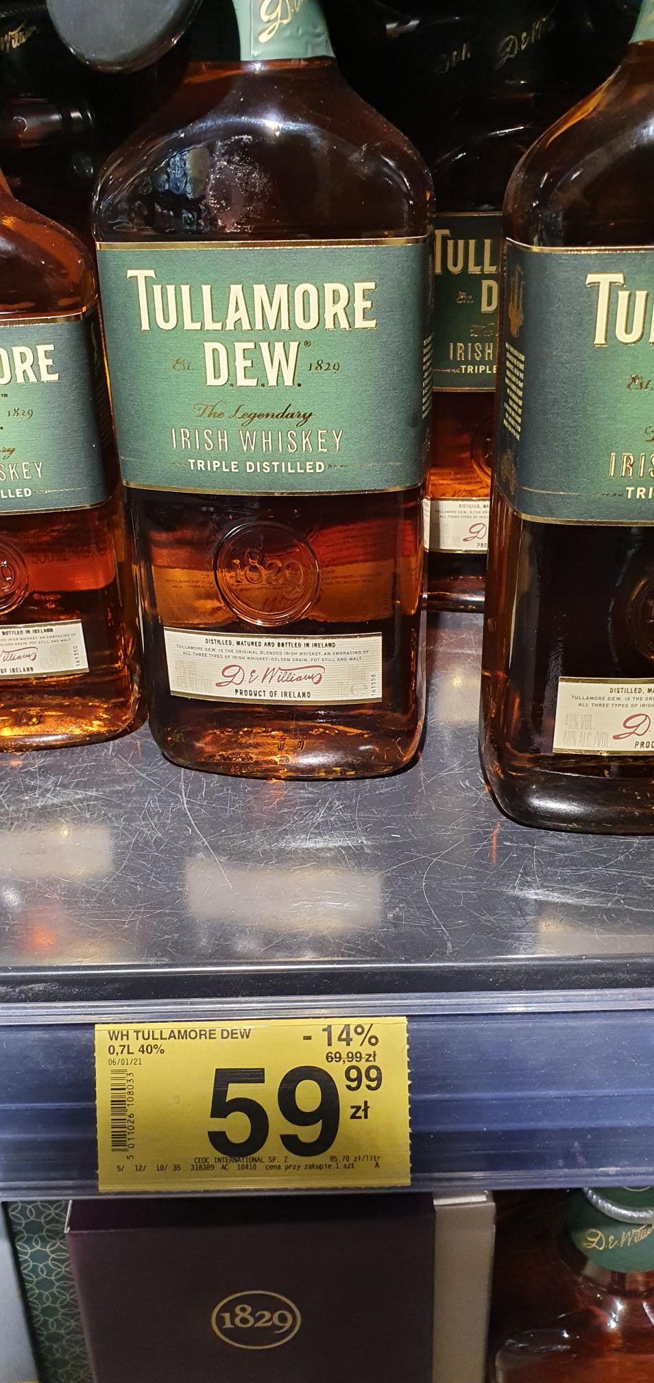 Whiskey Tullamore Dew 0,7l