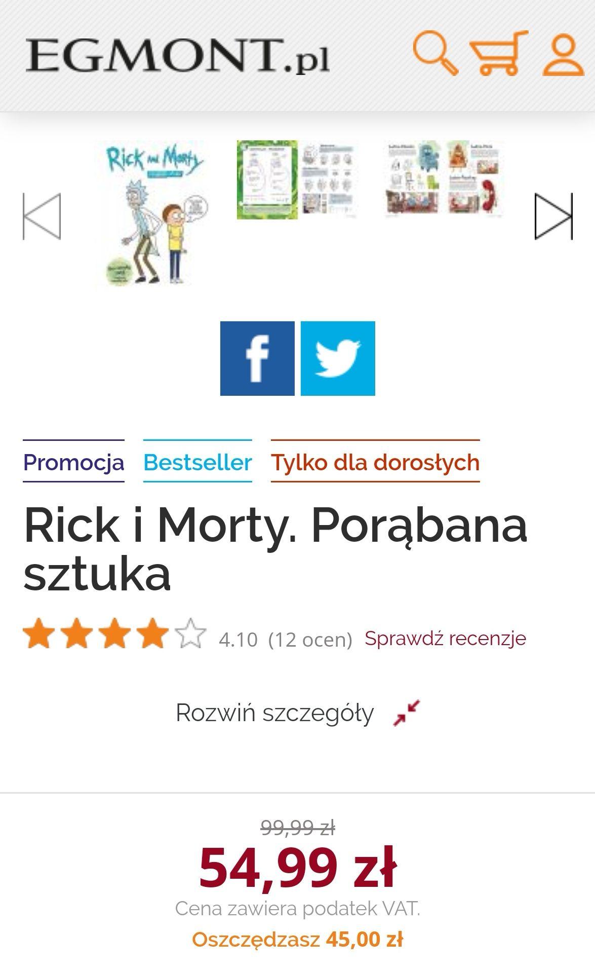 Rick and Morty. Porąbana sztuka - książka