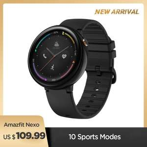 Xiaomi Amazfit Nexo Black [ Global ] [ 94,99 USD ]