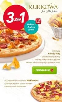 3 pizze w cenie 1 @ Telepizza
