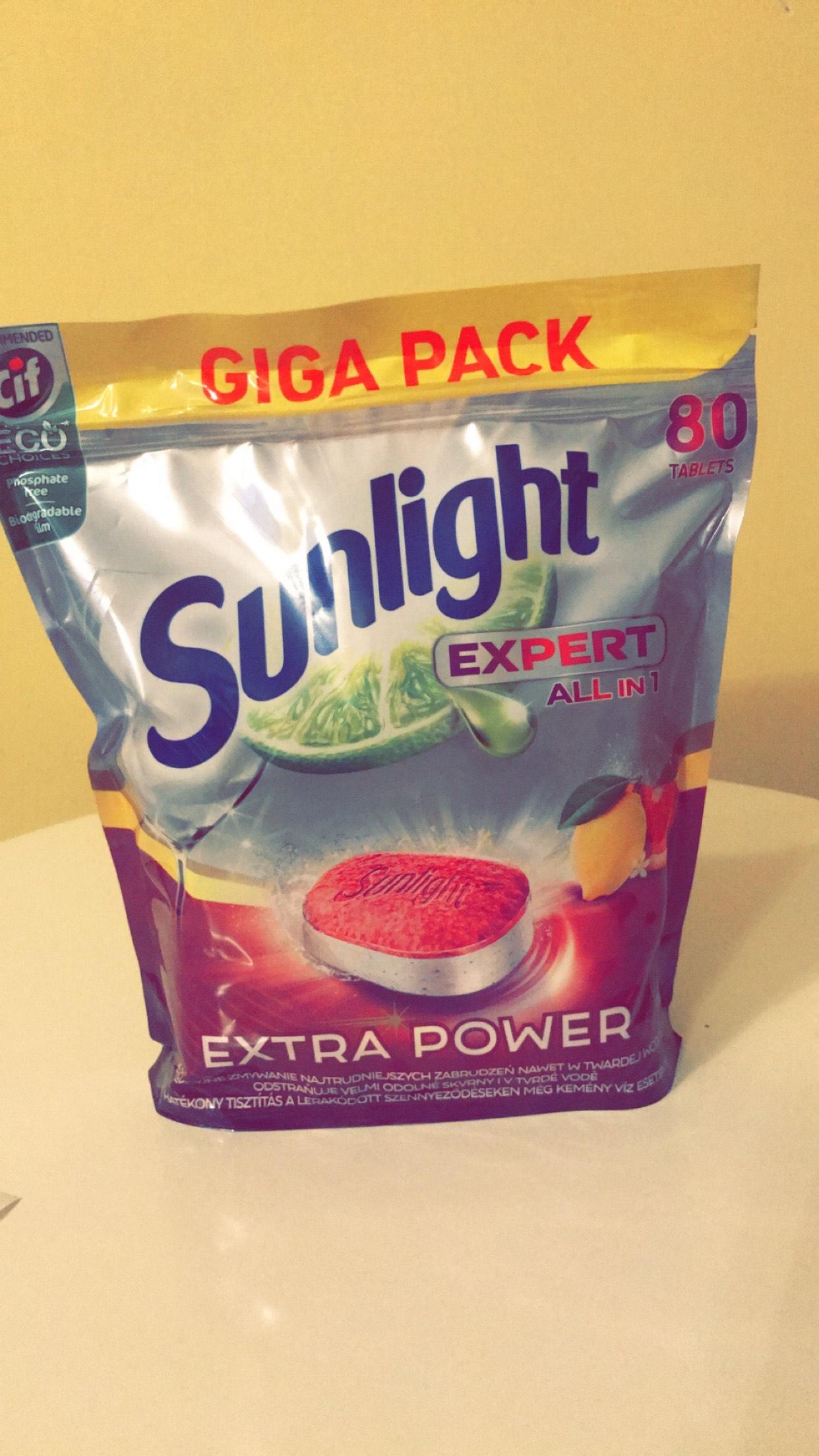 Tabletki do zmywarki Sunlight Expert 80 szt Lewiatan Radom