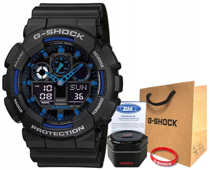 Zegarek Casio G-SHOCK GA-100-1A2ER 20BAR