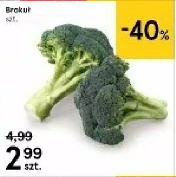 Brokuł 2,99 zł / szt