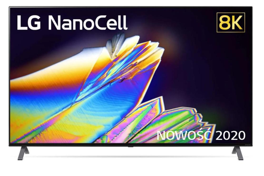 Telewizor TV 8K 100Hz + BON na 5000 zł LG 65NANO993 NanoCell 2020