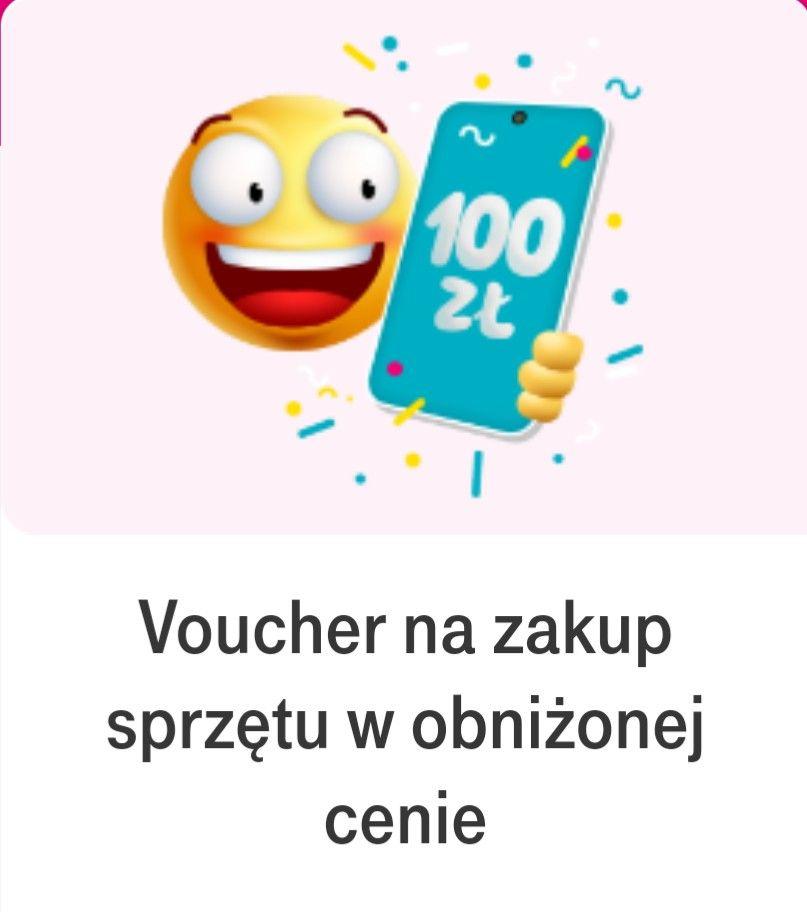 T-Mobile voucher 100 zł na zakup sprzętu