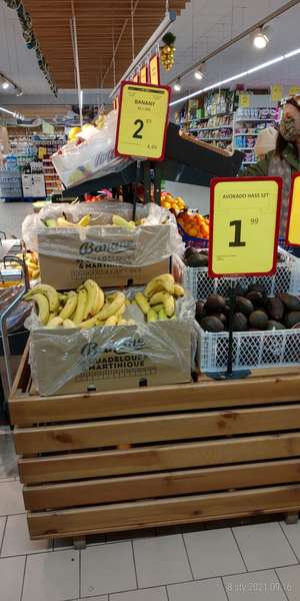 Awokado i banany sieć Lewiatan