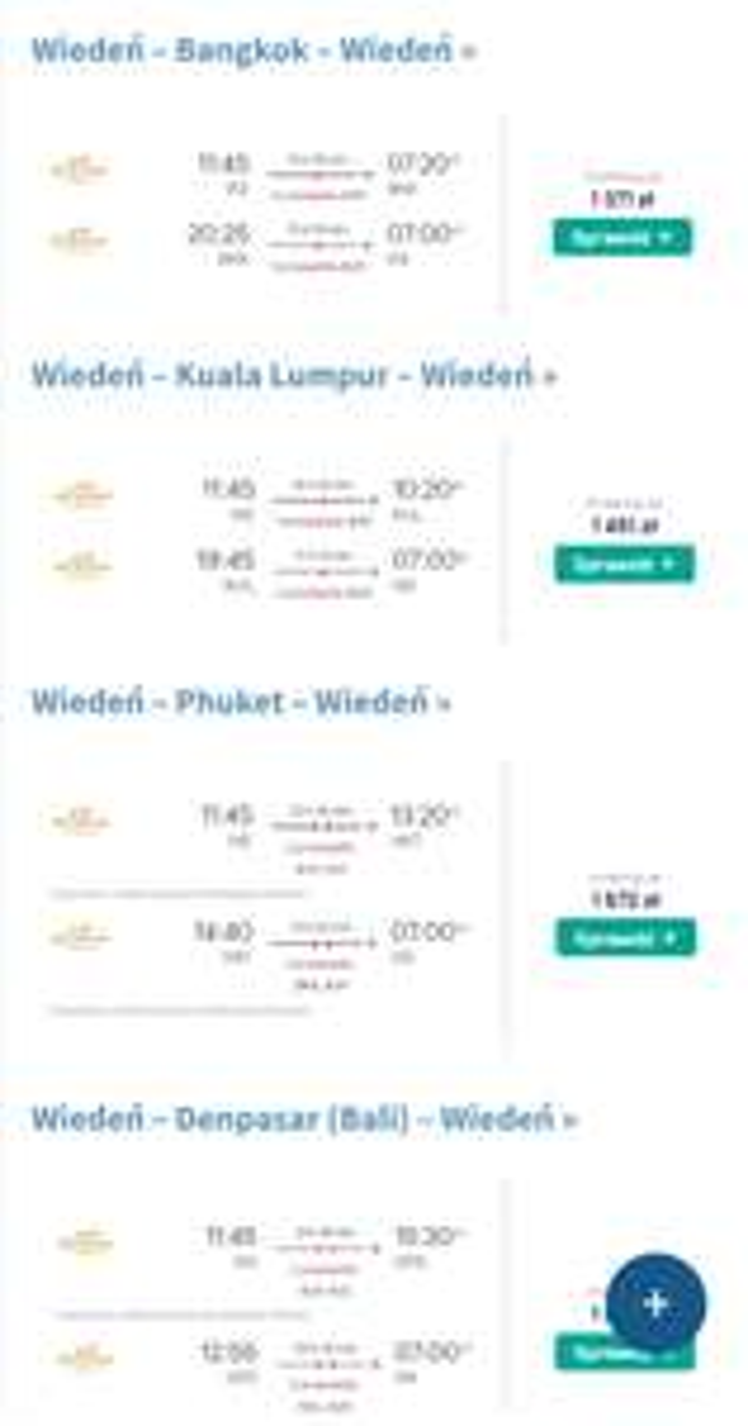 Wakacje z Etihad Airways! Malezja, Tajlandia, Indonezja, Seszele i Singapur z Wiednia od 1371 PLN Kwiecień-Lipiec
