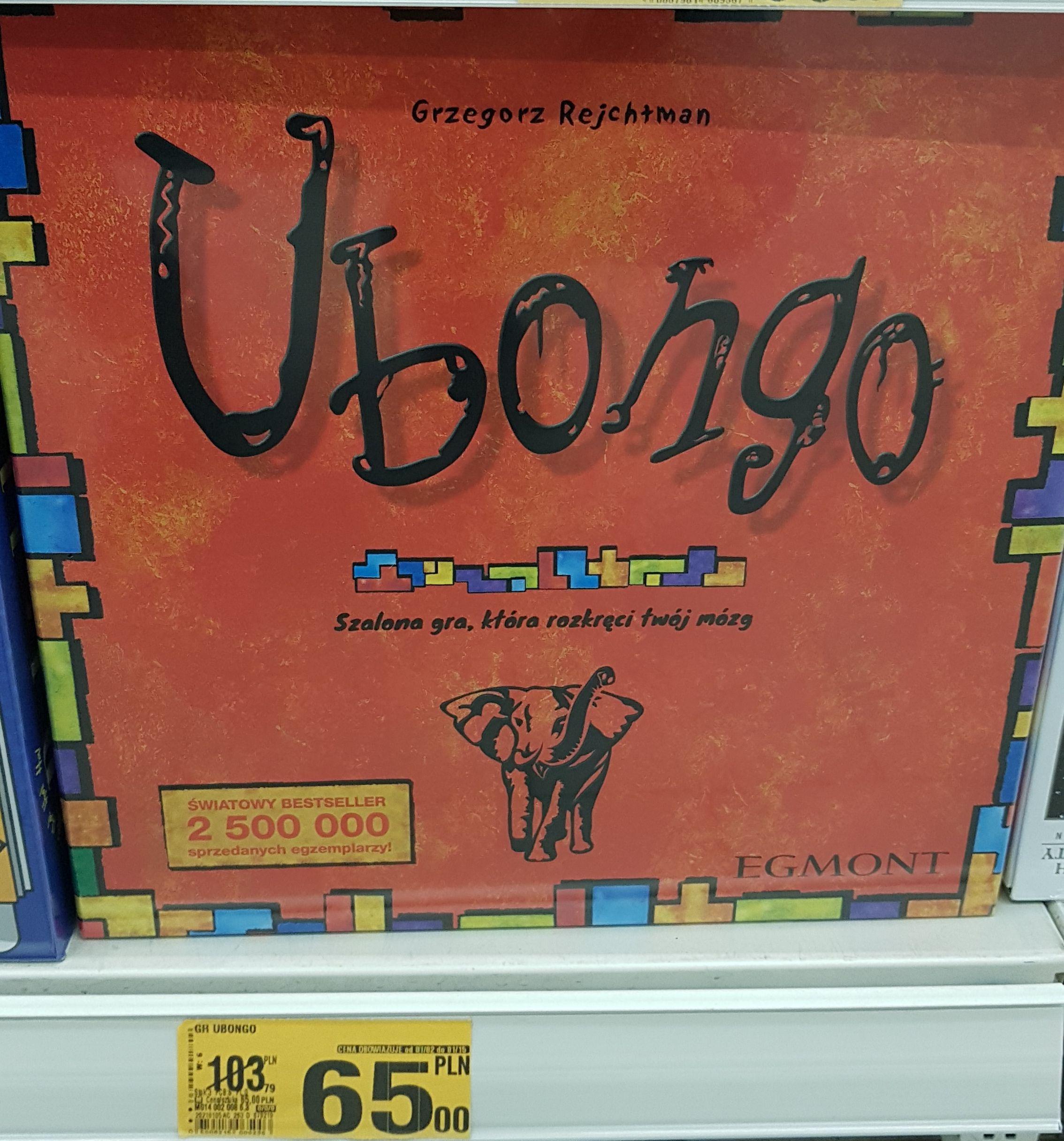 Ubongo gra planszowa Auchan Gdańsk ul. Kołobrzeska