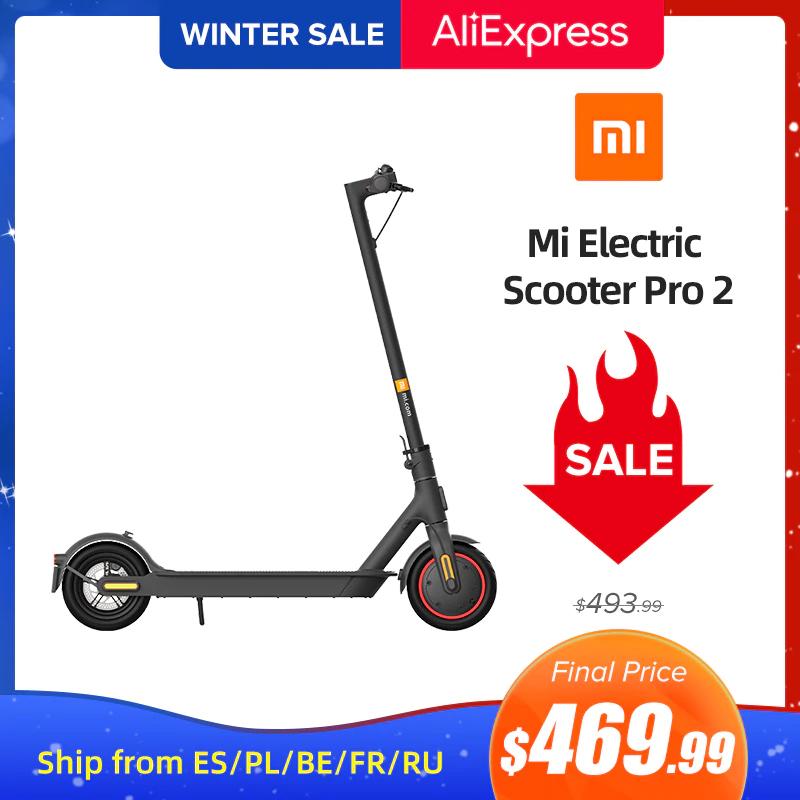 Hulajnoga elektryczna Xiaomi Scooter Pro 2 z Hiszpanii (od 11.01) @ Aliexpress