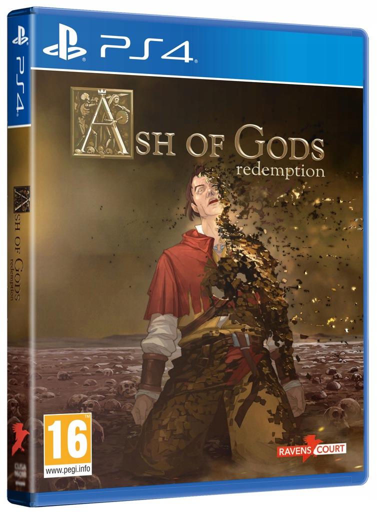 Ash of Gods Redemption PS4 wersja pudełkowa