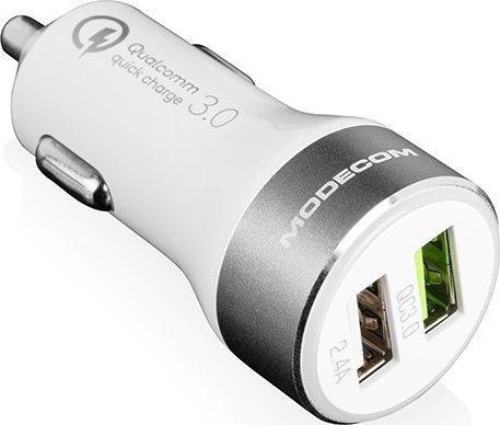 Ładowarka samochodowa Modecom MC-QCU2-07 Quick Charge 3.0 + USB