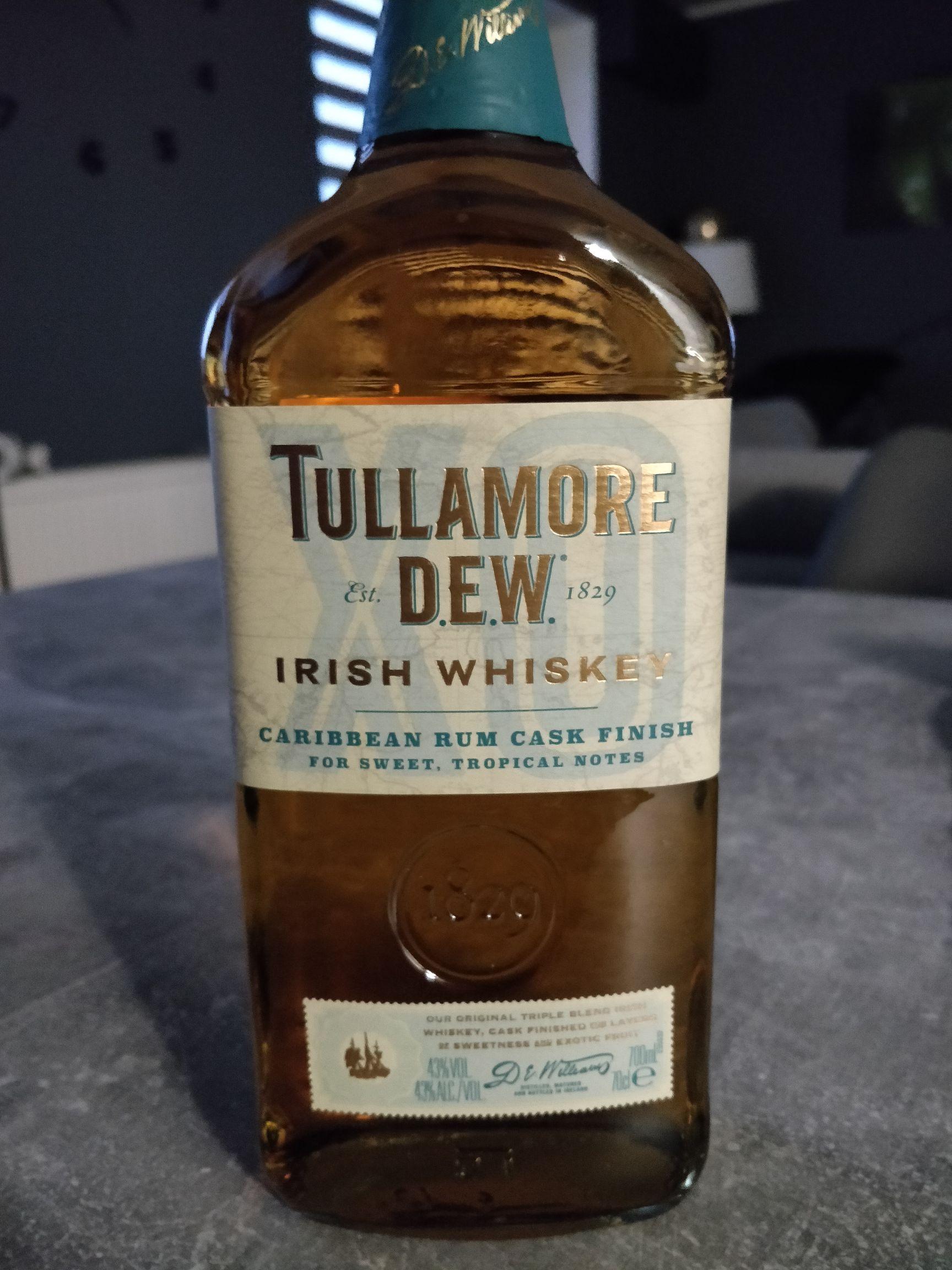 Whisky Tullamore dew Caribbean Rum Cask Finish @Biedronka