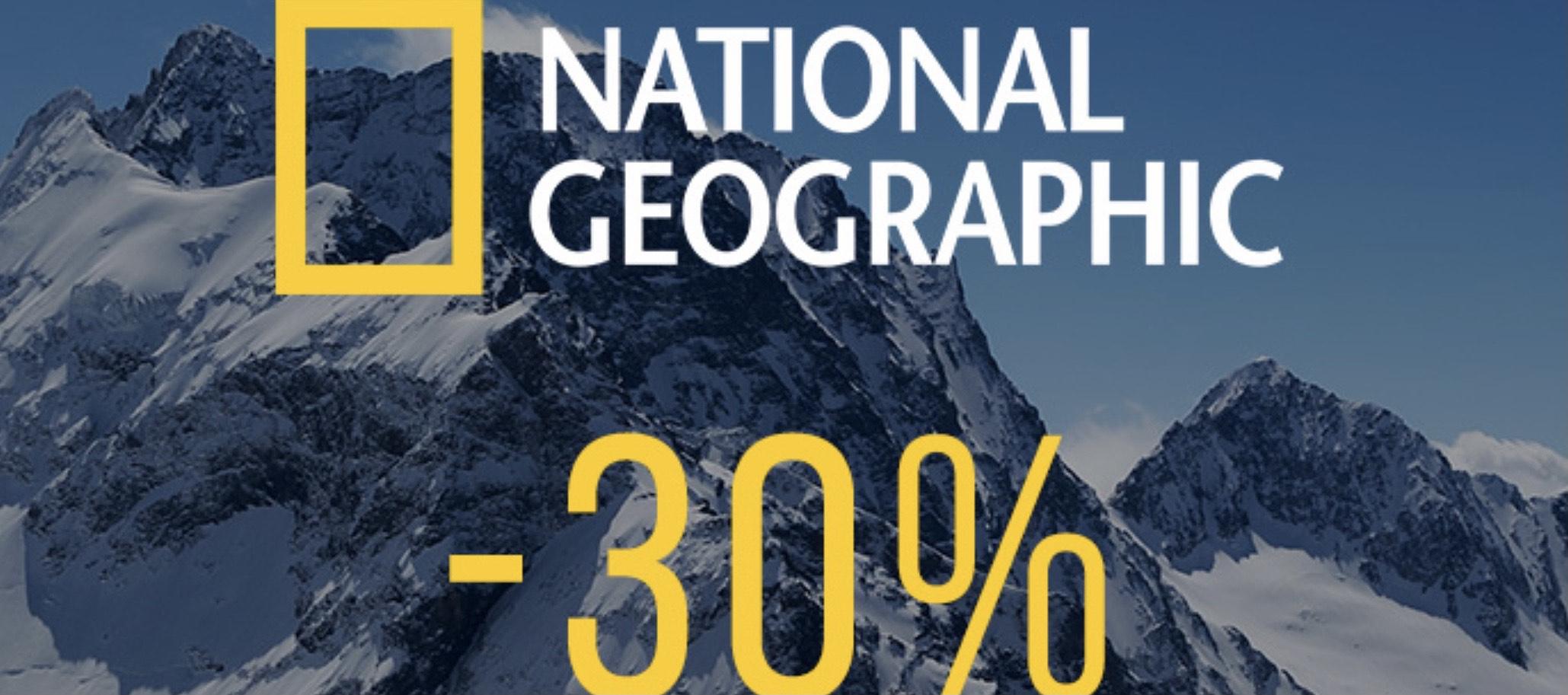 National Geographic Roczna prenumerata e-wydania -30%