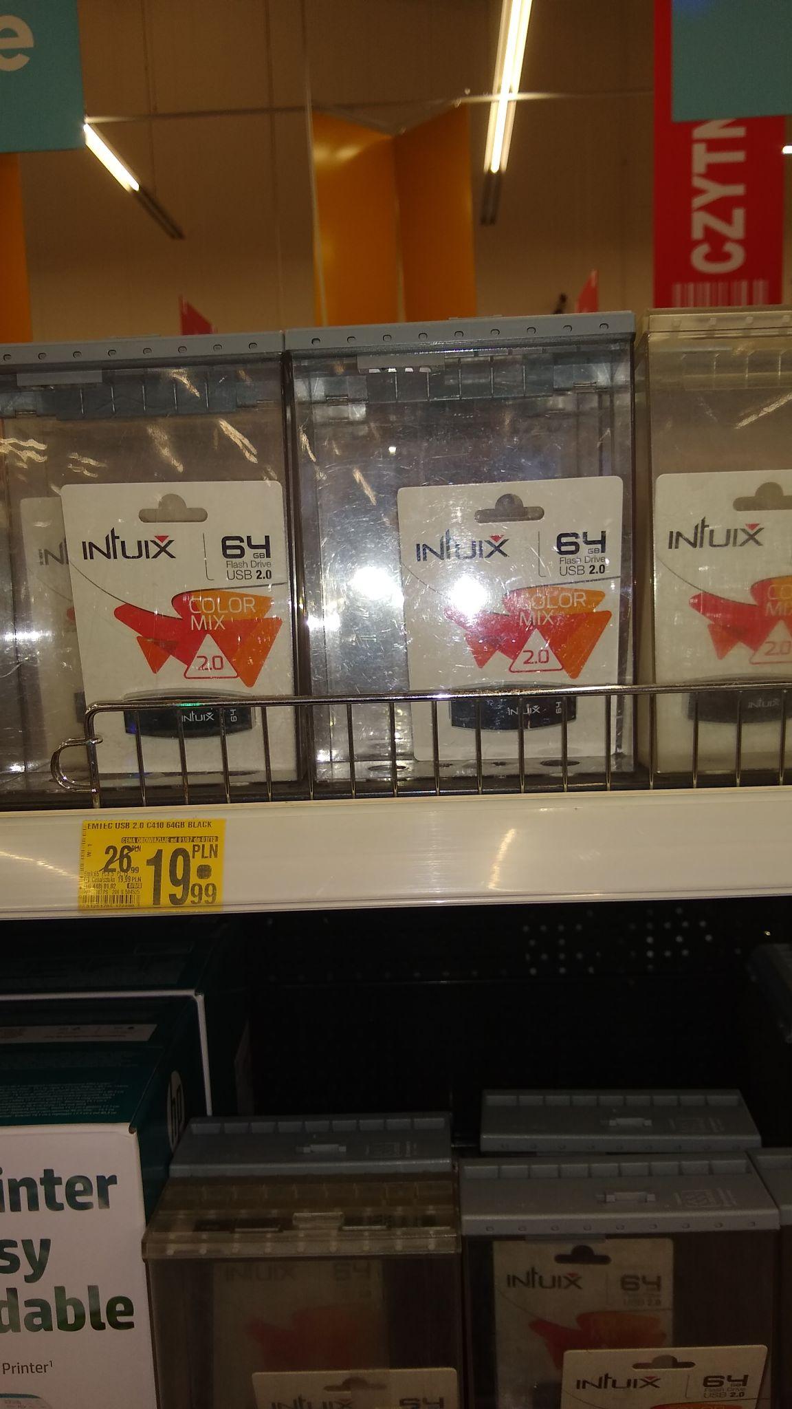 Pendrive 64 GB w Auchan za 19,90