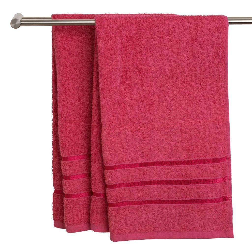 JYSK Ręczniki YSBY PLUS, trzy rozmiary 450 g/m²
