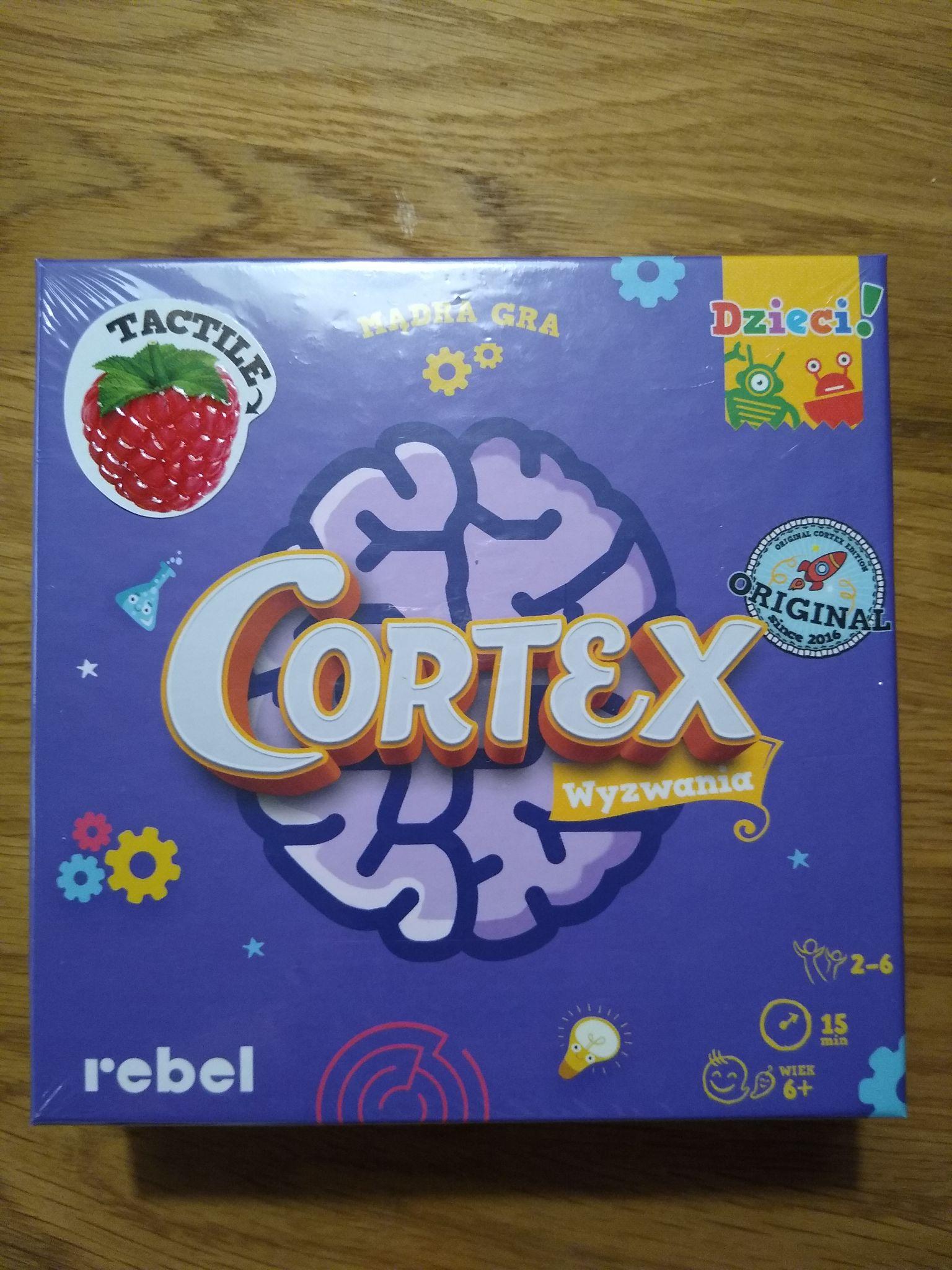 Gra planszowa dla dzieci CORTEX