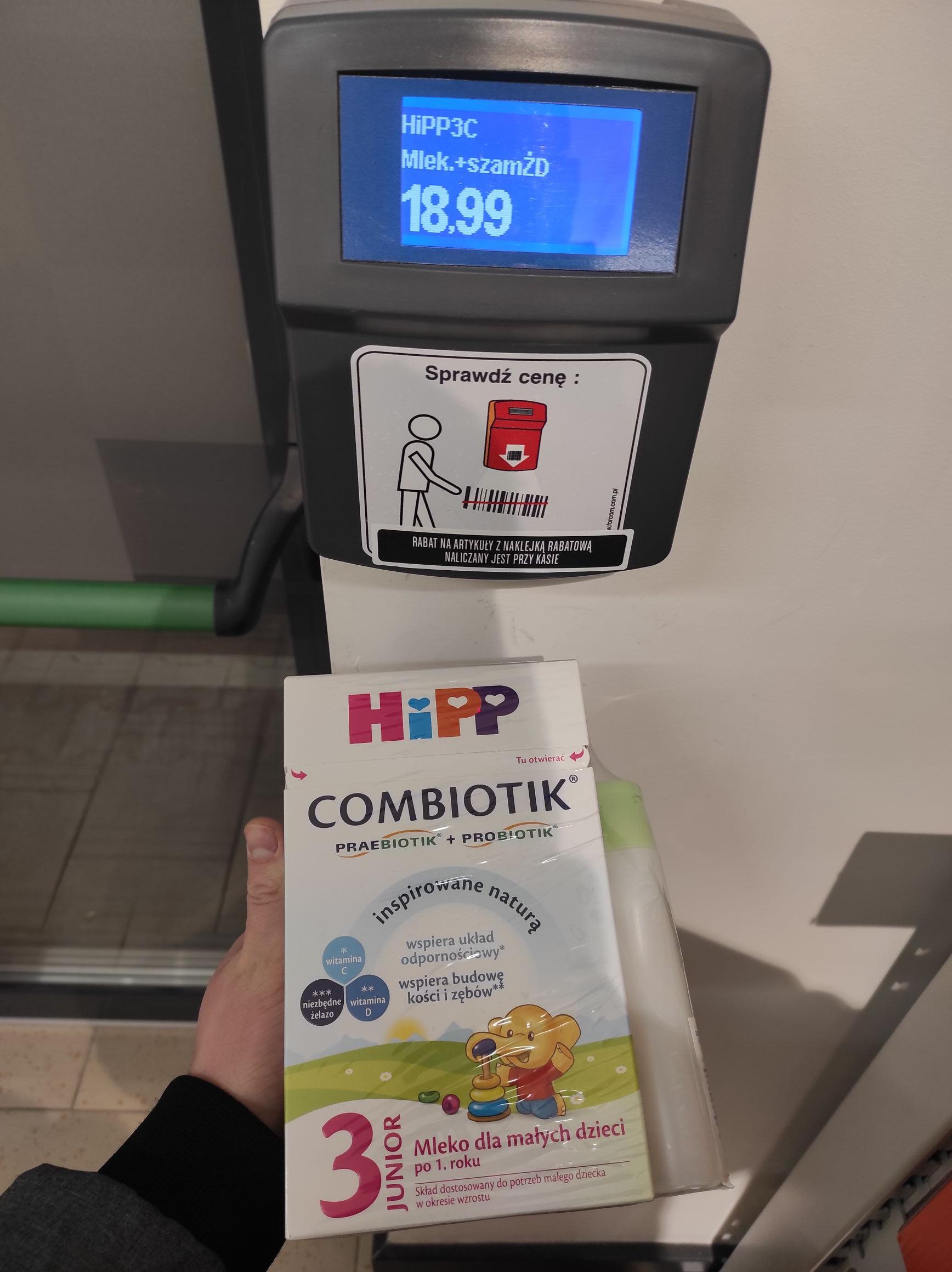 Mleko HIPP3 600g + szampon oraz inne w Lidlu