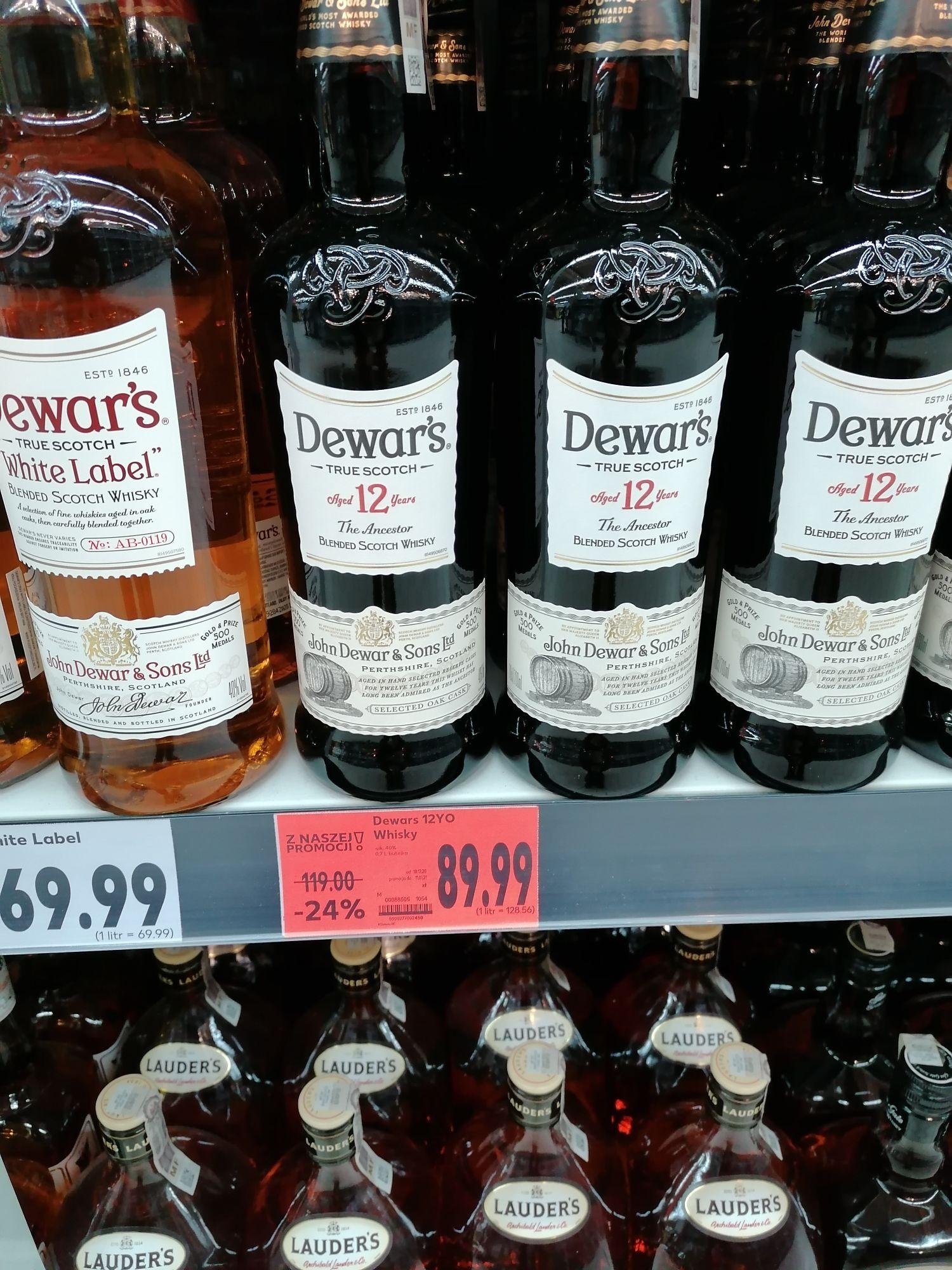 Whisky John Dewars 0.7 l 12 yo Kaufland
