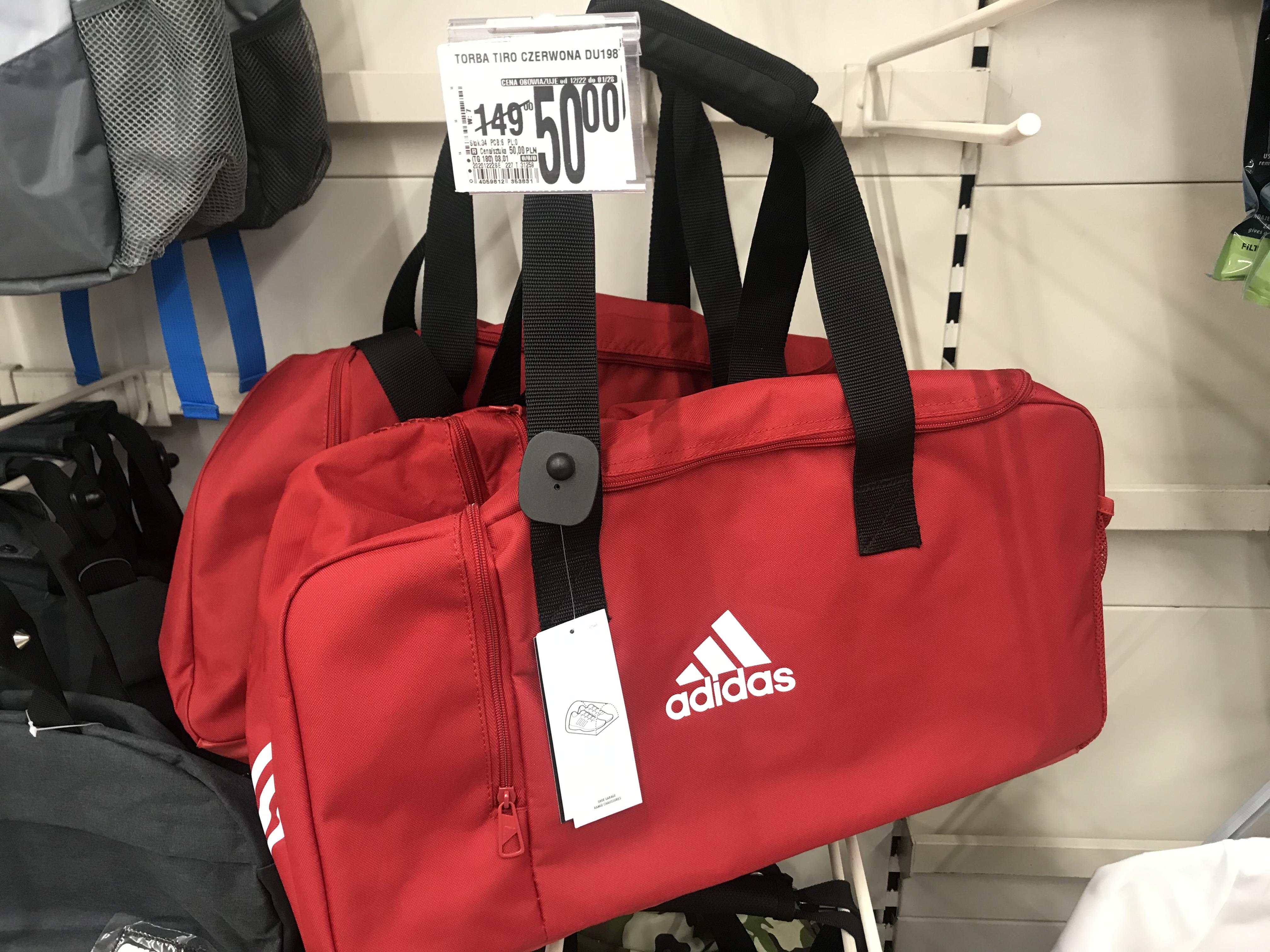 Torba sportowa ADIDAS średnio-mała Auchan CH Ursynów (Wwa) lokalnie