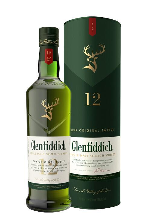 Whisky Glenfiddich 12 yo 0,7 Delikatesy Premium Wrocław