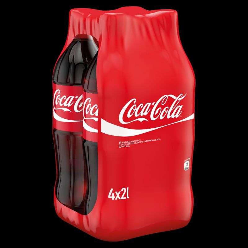 Kup 4-pak Coca-Cola 4x2L i zapłać 4,29 zł za butelkę