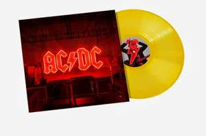 Winyl AC/DC Power Up LTD (Transparent yellow LP) przeźroczysty żółty w sklepie Mediamarkt.pl