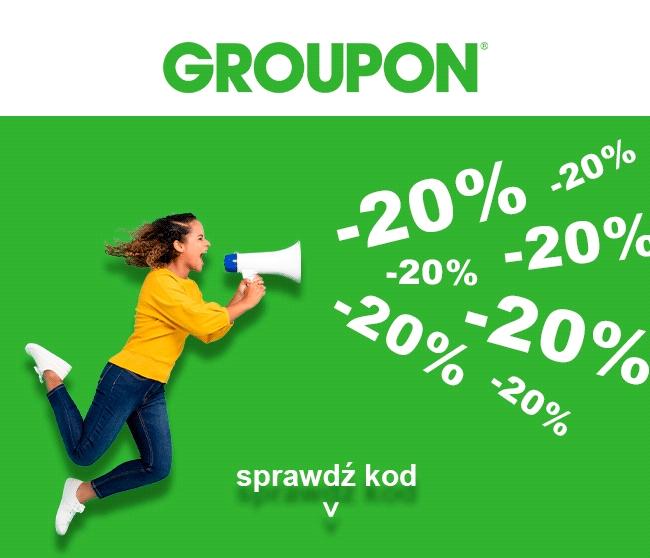 20% zniżki na Moje Miasto - Groupon