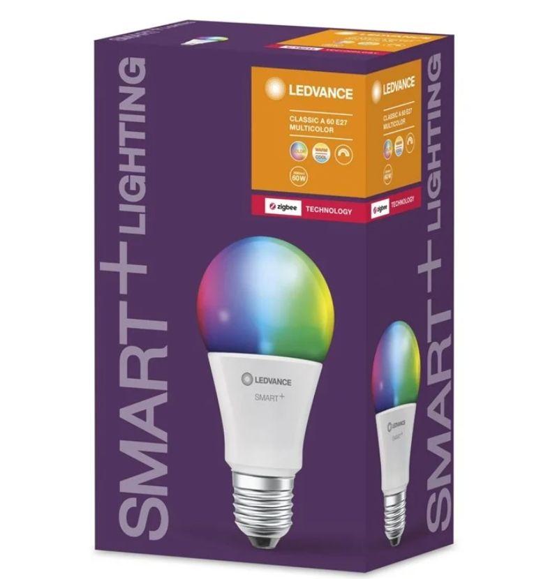 Osram/LEDVANCE SMART+ 60W/RGBW 806lm E27 ZigBee (działa z Philips HUE)
