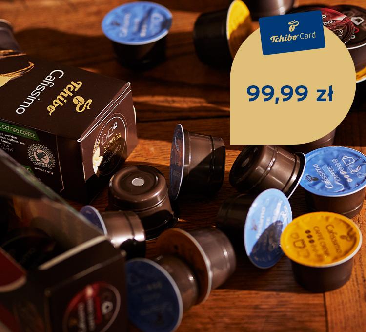 Kapsułki Tchibo Cafissimo 99 zł za 80 szt. z TchiboCard