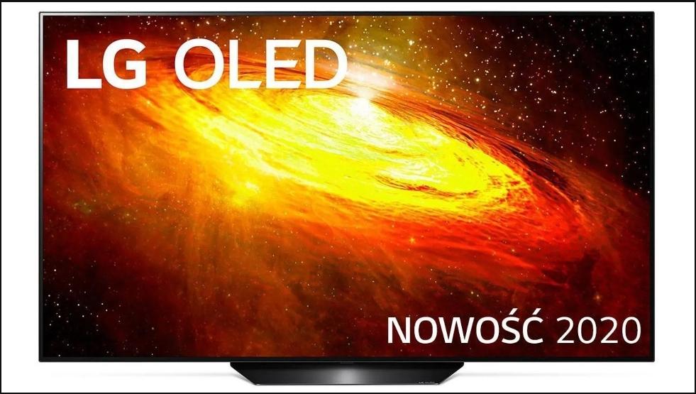 Telewizor LG OLED55BX, hdmi 2.1, model na 2020rok + smartwatch MAXCOM