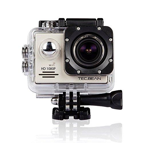 Kamerka sportowa Tec.Bean, HD 1080p, WiFi, 2 baterie