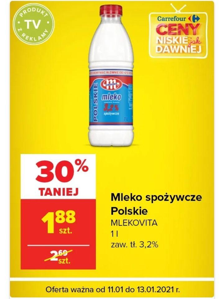 Mleko spożywcze Polskie MLEKOVITA 3.2 %