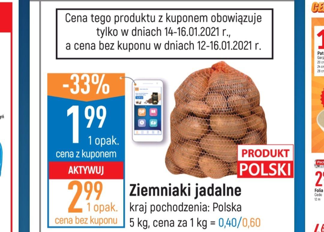 Ziemniaki e.leclerc 5kg-1.99zł