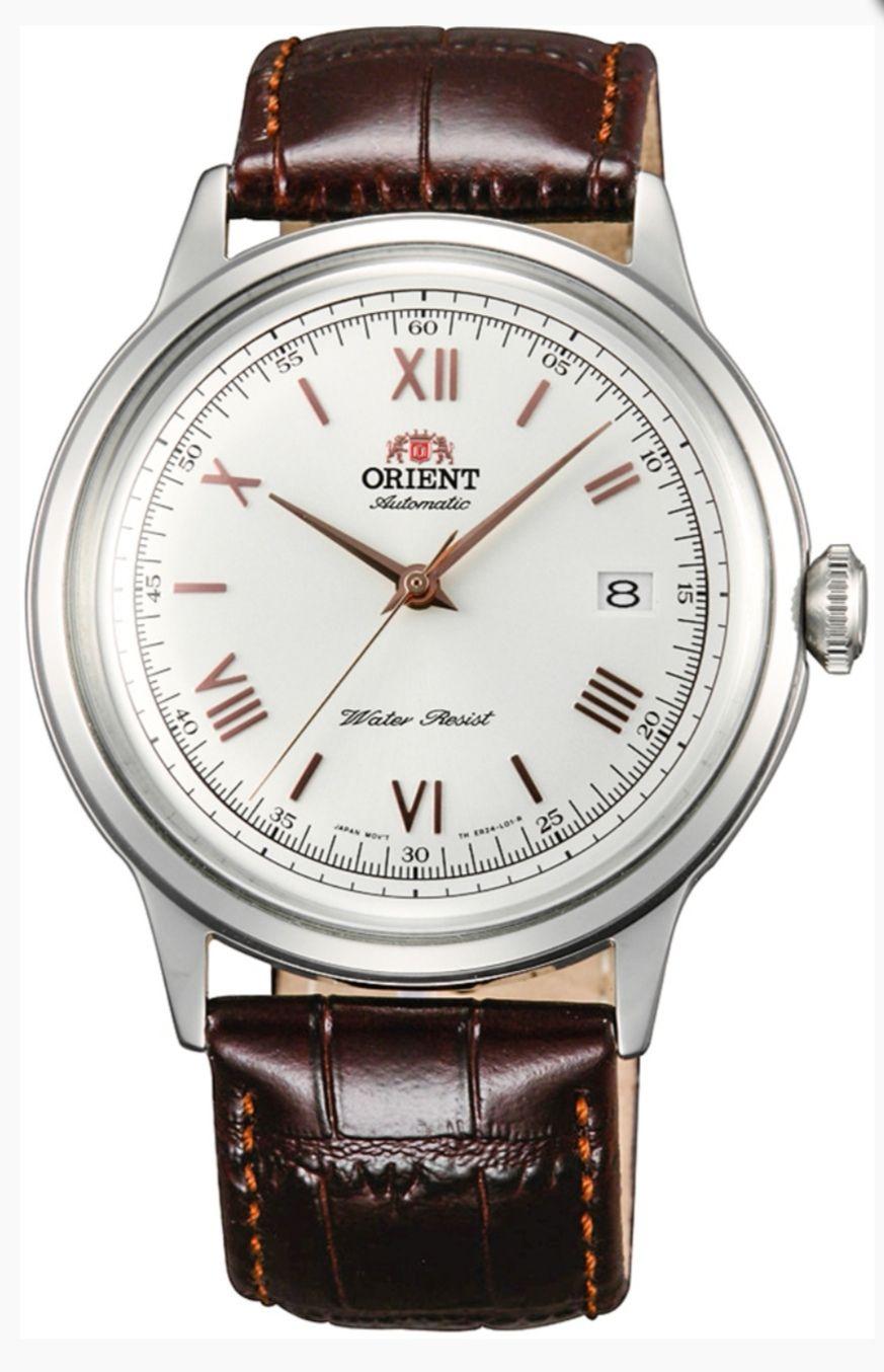 Piękny klasyczny Zegarek Orient FAC00008W0 Bambino Automat.