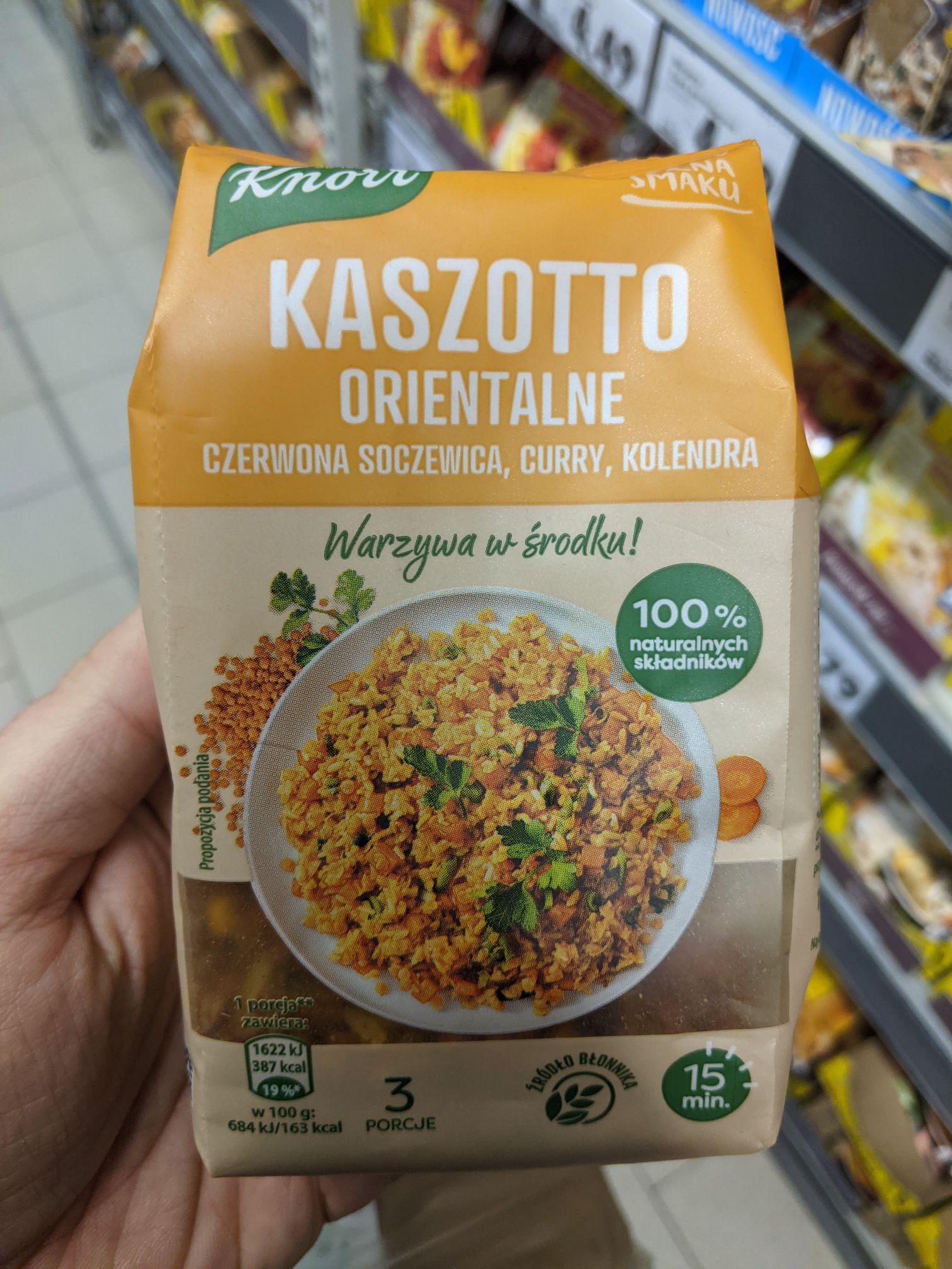 Knorr Kasza Pełna Smaku Kaszotto Orientalne 150 g, Kaufland Sosnowiec